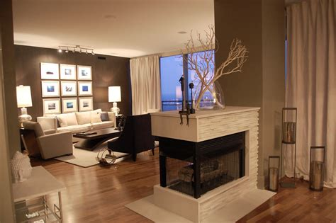10 Beautiful Rooms With Double Sided Fireplaces Sided Fireplace Design