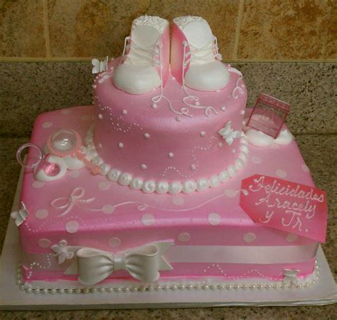Baby Shower Cakes by 35 Baby Shower Cakes For Table Decorating Ideas