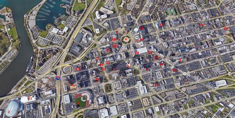 map downtown new york buffalo new york what you ll see driving around downtown