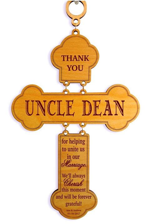 officiant gift uncle aunt brother wedding appreciation