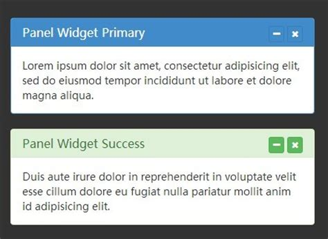 js panel layout creating collapsible bootstrap panels with jquery free