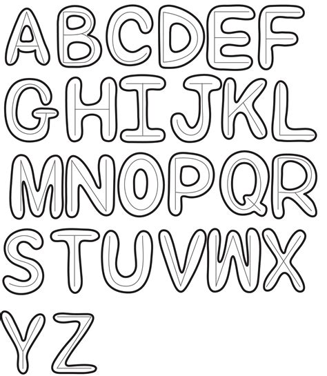 doodle lettering a z how to draw cool letters a z www imgkid the image