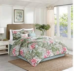 hawaiian bedding sets beachcomber bedding set the hawaiian home