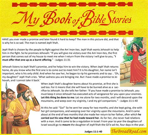 my book of bible stories pictures my book of bible stories jephthah s exjw