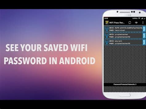 view saved passwords android how to find view wifi password in android with apk apps