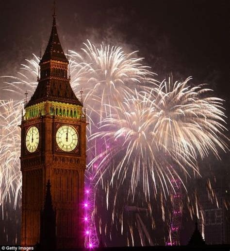 great britain images new years eve celebrations in london