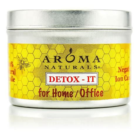 Detox Bath Recipes For Allergies by Aroma Naturals Detox It Allergy Pet Friendly Candle