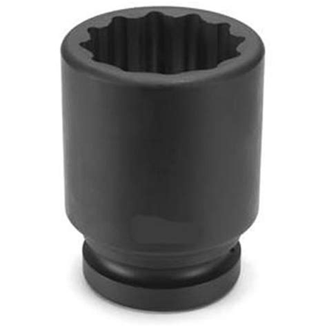 Kunci Sock 1 316 34 Drive Socket 12 Point Crossman Usa 1 1 2 Drive X 52mm 12 Point Metric Impact Socket