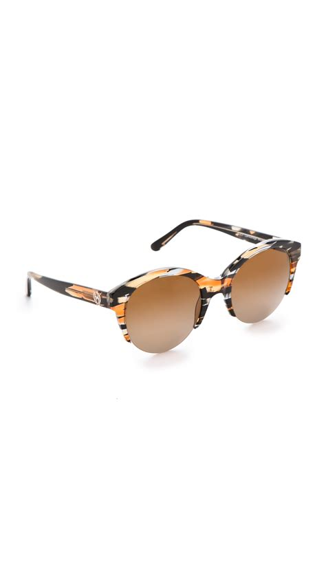 house of harlow sunglasses house of harlow 1960 lucy sunglasses in multicolor lyst