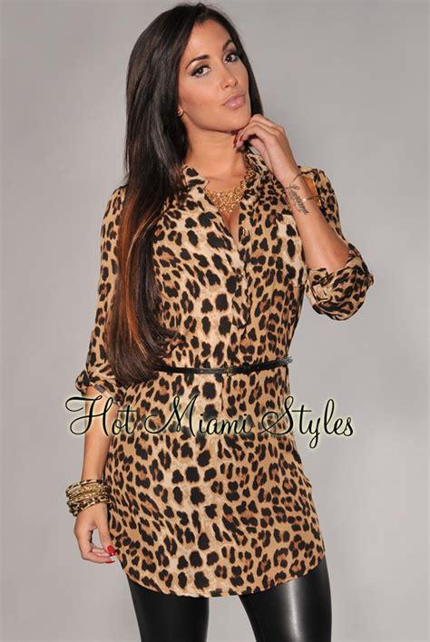shirt dress animal print leopard print belted shirt dress