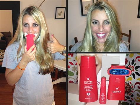 Luster Pro Light Teeth Whitening System by Best At Home Teeth Whitening Editor Tested At Home Teeth Whiteners Style News Stylewatch