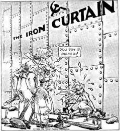 Iron Curtain Trail Cold War Cartoons Social Studies And History Teacher S Blog