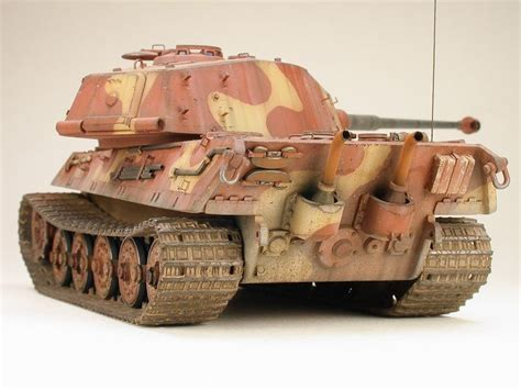 Lu Tiger 686 best king tiger tank modeling images on