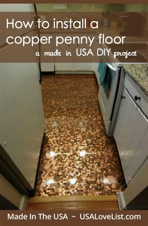 diy kitchen floor how to install a copper floor a made in usa diy