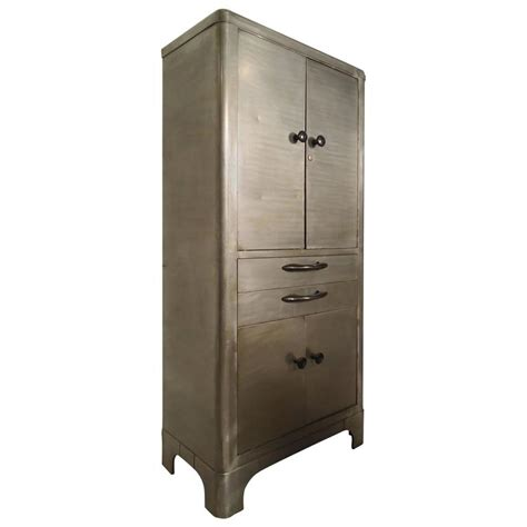 Industrial Metal Cabinets by Industrial Metal Cabinet At 1stdibs