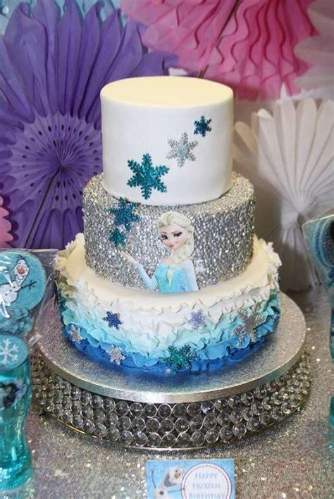 Freezer Cake 21 disney frozen birthday cake ideas and images my happy birthday wishes