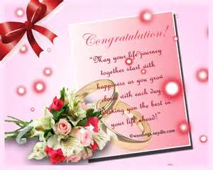Wedding congratulations messages wordings and messages