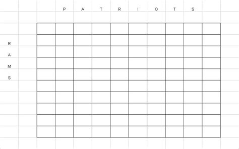 bowl grid template football pool squares template 100 square grid c la gi