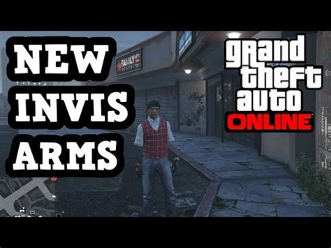 """gta 5 brand new """"invisible arms glitch"""" after patch 1.36"""