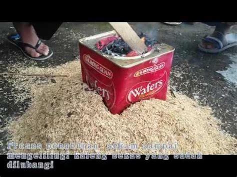 Sekam Ikan Bakar cara membuat arang sekam funnydog tv