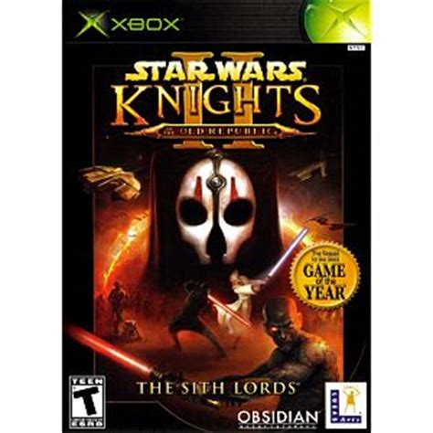 star wars knights of old republic 2 xbox