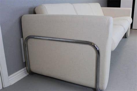 wrap around sofa lecorbusier style white sofa with wrap around stainless