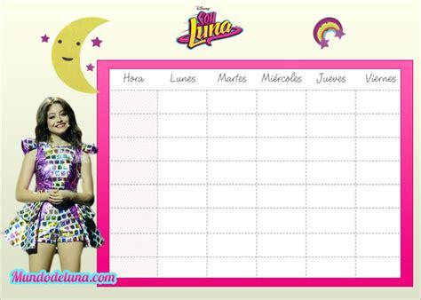Imagenes De Horarios De Soy Luna | horarios de clase soy luna para descargar gratis soy