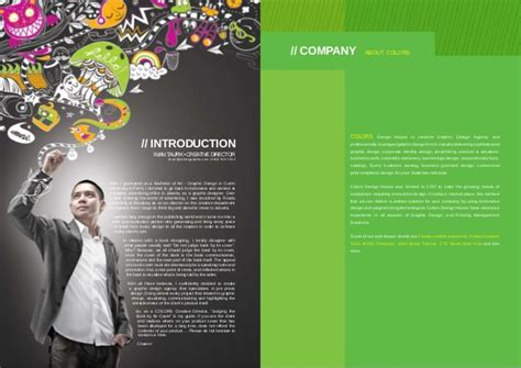 design agency company profile colors design company profile