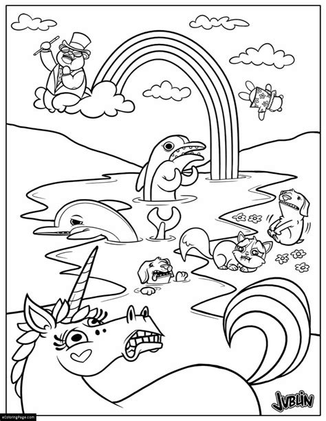 Unicorns Horse Coloring On Pinterest Horse Coloring Coloring Pages Unicorn Rainbow