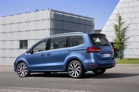 vw minivan vw adds golf gtd engine to sharan minivan