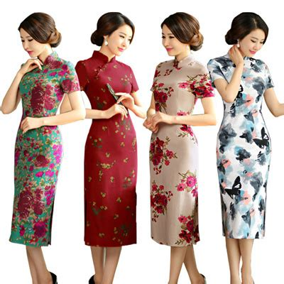 modern new year dress qoo10 best quality best seller cny cheongsam qipao