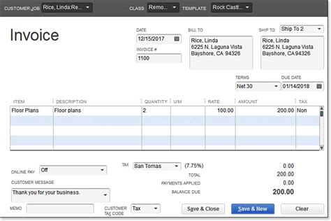 how to create an invoice in quickbooks expert quickbooks