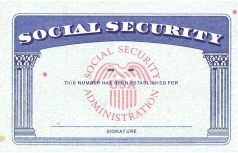 blank social security card template blank social security card template blank social security inside blank social security
