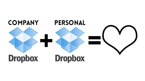 Dropbox Personal | how to pair company dropbox account with personal dropbox