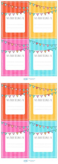label templates for school books free printable pencil labels for your kids kids