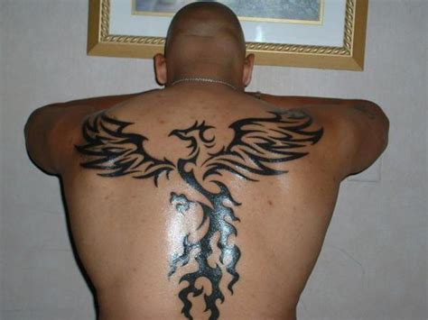 tribal phoenix back tattoo 52 tattoos for back