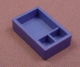 Shallow Drawer Dividers by Playmobil Blue Shallow Box Or Drawer With Dividers 4009