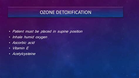 Ozone Therapy Lead Detox by Healozone