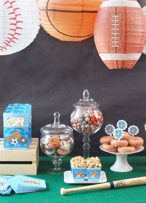 sports themed birthday decorations 17 best ideas about sport theme on sports room