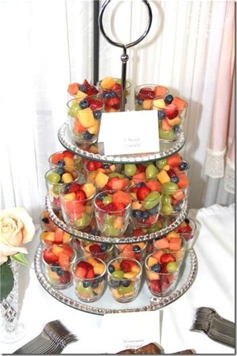 Fruit Salad Ideas For Bridal Shower by 25 Best Ideas About Individual Fruit Cups On