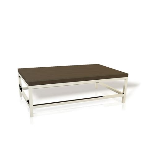 h base metal accents coffee table hyde park home