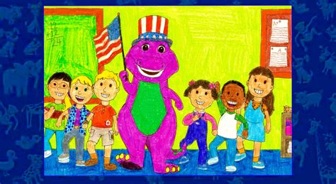 barney and the backyard gang goes to school barney goes to school by bestbarneyfan on deviantart