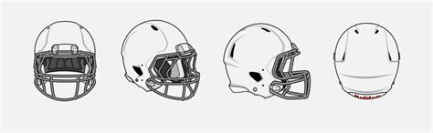 Football Helmet Template by Best Photos Of Blank Football Helmet Template Football