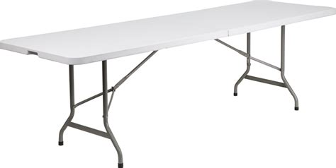 White Plastic Folding Table 30 W X 96 L Bi Fold Granite White Plastic Folding Table Ycz 244z Gg By Flash Furniture