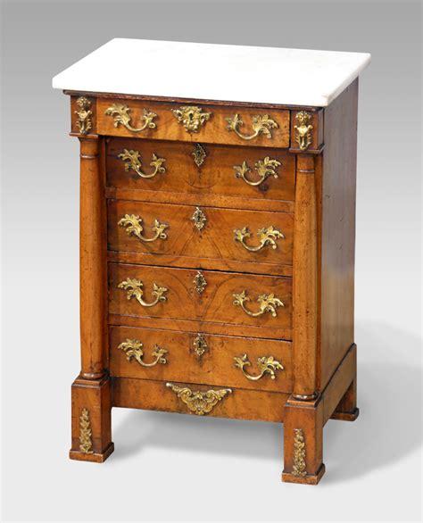 Antique miniature commode, antique collectors cabinet