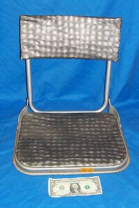 vintage folding boat seat vintage folding boat seat old boating accessory seating