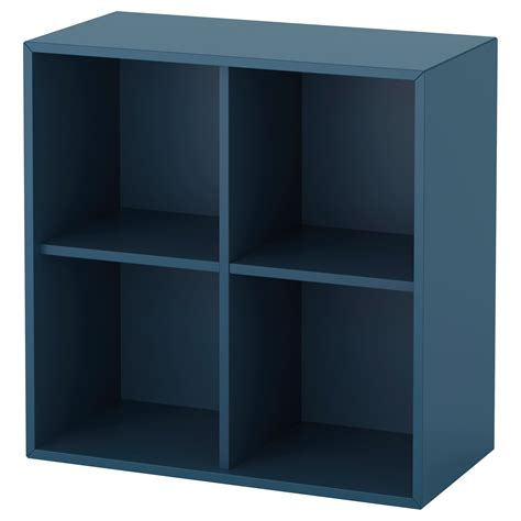 ikea eket cabinet eket cabinet with 4 compartments dark blue 70x35x70 cm ikea