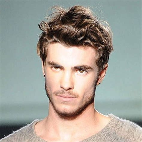 haircuts for boys with wavy hair cool curly hairstyles for men mens hairstyles 2018