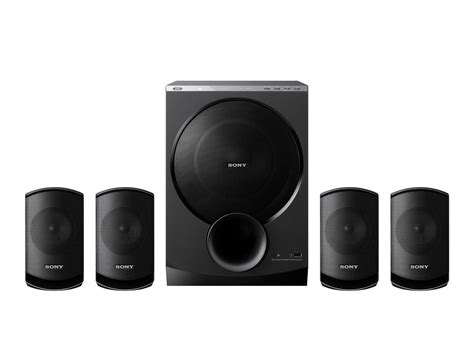 Speaker Aktif Sony sony sa d100 4 1 multimedia speakers review sony sa d100 4 1 multimedia speakers price india