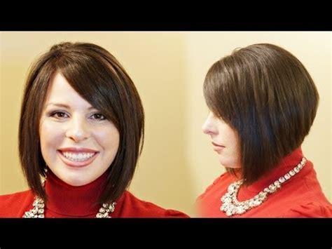 graduation haircut dailymotion how to cut graduated bob haircut step by step vidoemo